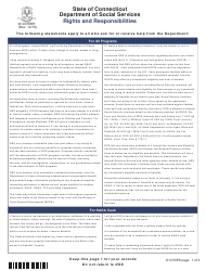 """Form W-1E """"Application for Benefits"""" - Connecticut, Page 19"""