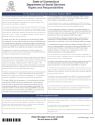 """Form W-1E """"Application for Benefits"""" - Connecticut, Page 20"""