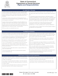 """Form W-1E """"Application for Benefits"""" - Connecticut, Page 21"""