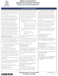 """Form W-1E """"Application for Benefits"""" - Connecticut, Page 22"""