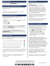 """Form W-1E """"Application for Benefits"""" - Connecticut, Page 2"""