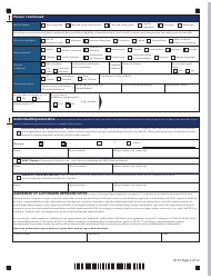 """Form W-1E """"Application for Benefits"""" - Connecticut, Page 6"""