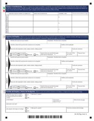 """Formulario W-1ES """"Solicitud De Beneficios"""" - Connecticut (Spanish), Page 13"""