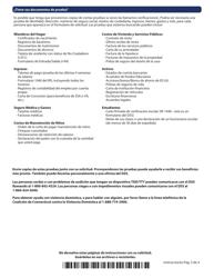 """Formulario W-1ES """"Solicitud De Beneficios"""" - Connecticut (Spanish), Page 3"""