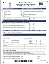"""Formulario W-1ES """"Solicitud De Beneficios"""" - Connecticut (Spanish), Page 5"""