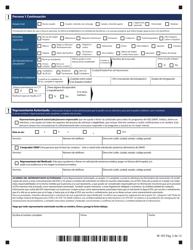 """Formulario W-1ES """"Solicitud De Beneficios"""" - Connecticut (Spanish), Page 6"""