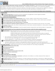 """Child Care Assistance Application"" - Arkansas"