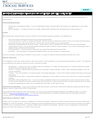 "Form MO886-2845 ""Child Care Application"" - Missouri"