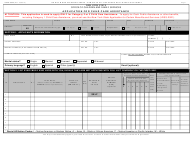"Form OCFS-6025 ""Application for Child Care Assistance"" - New York"