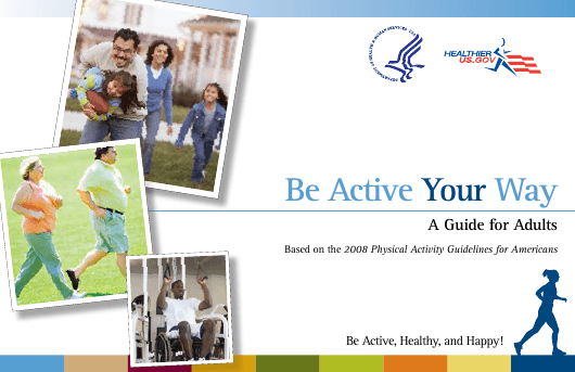 """""""Be Active Your Way: a Guide for Adults"""" Download Pdf"""