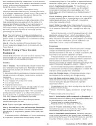 "Instructions for IRS Form 3520-A ""Annual Information Return of Foreign Trust With a U.S. Owner"", Page 6"