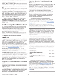 "Instructions for IRS Form 3520-A ""Annual Information Return of Foreign Trust With a U.S. Owner"", Page 7"