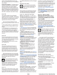 "Instructions for IRS Form 1040-SS ""U.S. Self-employment Tax Return (Including the Additional Child Tax Credit for Bona Fide Residents of Puerto Rico)"", Page 6"