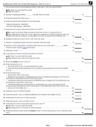 "Instructions for IRS Form 1040-SS ""U.S. Self-employment Tax Return (Including the Additional Child Tax Credit for Bona Fide Residents of Puerto Rico)"", Page 8"