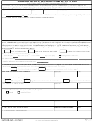 "DA Form 2627-1 ""Summarized Record of Proceedings Under Article 15, Ucmj"""
