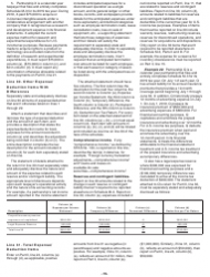 """Instructions for IRS Form 1065 Schedule M-3 """"Net Income (Loss) Reconciliation for Certain Partnerships"""", Page 19"""