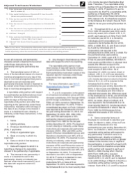 """Instructions for IRS Form 1065 Schedule M-3 """"Net Income (Loss) Reconciliation for Certain Partnerships"""", Page 3"""