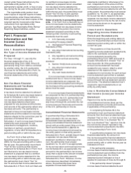 """Instructions for IRS Form 1065 Schedule M-3 """"Net Income (Loss) Reconciliation for Certain Partnerships"""", Page 5"""