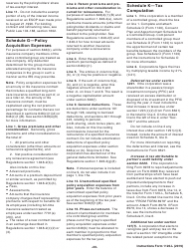 """Instructions for IRS Form 1120-L """"U.S. Life Insurance Company Income Tax Return"""", Page 20"""