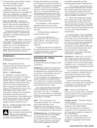 """Instructions for IRS Form 1120-L """"U.S. Life Insurance Company Income Tax Return"""", Page 22"""