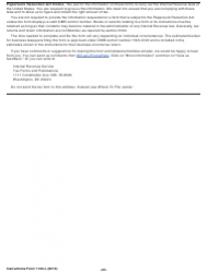"""Instructions for IRS Form 1120-L """"U.S. Life Insurance Company Income Tax Return"""", Page 25"""