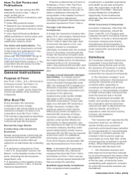 """Instructions for IRS Form 1120-L """"U.S. Life Insurance Company Income Tax Return"""", Page 2"""