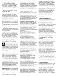 """Instructions for IRS Form 1120-L """"U.S. Life Insurance Company Income Tax Return"""", Page 5"""