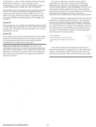 """Instructions for IRS Form 8936 """"Qualified Plug-In Electric Drive Motor Vehicle Credit (Including Qualified Two-Wheeled Plug-In Electric Vehicles)"""", Page 3"""