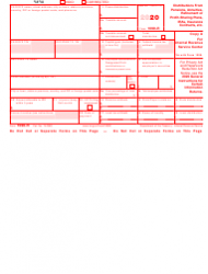 "IRS Form 1099-R ""Distributions From Pensions, Annuities, Retirement or Profit-Sharing Plans, IRAs, Insurance Contracts, Etc."", Page 2"