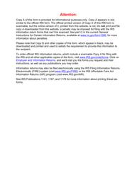 "IRS Form 5498 ""Ira Contribution Information"""
