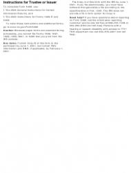 """IRS Form 5498 """"Ira Contribution Information"""", Page 6"""