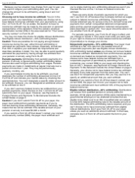 """IRS Form W-4P """"Withholding Certificate for Pension or Annuity Payments"""", Page 2"""