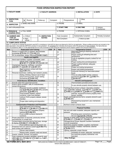 DD Form 2973  Printable Pdf