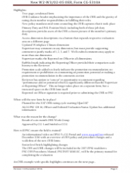 Instructions for Form Cg-5310a - Officer Evaluation Report (W2-w3/O2-o5)
