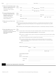 "Official Form 201 ""Voluntary Petition for Non-individuals Filing for Bankruptcy"", Page 3"