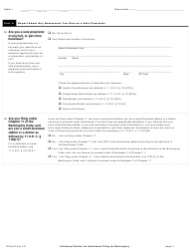 """Official Form 101 """"Voluntary Petition for Individuals Filing for Bankruptcy"""", Page 4"""