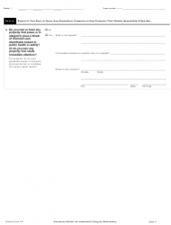 """Official Form 101 """"Voluntary Petition for Individuals Filing for Bankruptcy"""", Page 5"""
