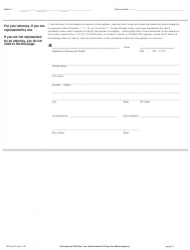 """Official Form 101 """"Voluntary Petition for Individuals Filing for Bankruptcy"""", Page 8"""