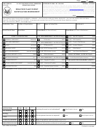 "NRC Form 361 ""Reactor Plant Event Notification Worksheet"""