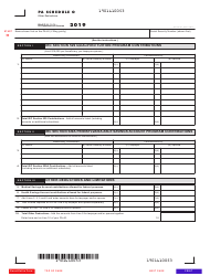 "Form PA-40 Schedule O ""Other Deductions"" - Pennsylvania"