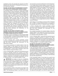 "Form PA-41 ""Pa Fiduciary Income Tax Return"" - Pennsylvania, Page 13"