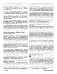 "Form PA-41 ""Pa Fiduciary Income Tax Return"" - Pennsylvania, Page 14"