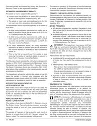 "Form PA-41 ""Pa Fiduciary Income Tax Return"" - Pennsylvania, Page 16"
