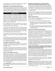 "Form PA-41 ""Pa Fiduciary Income Tax Return"" - Pennsylvania, Page 17"