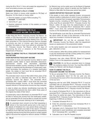 "Form PA-41 ""Pa Fiduciary Income Tax Return"" - Pennsylvania, Page 20"