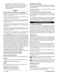 "Form PA-41 ""Pa Fiduciary Income Tax Return"" - Pennsylvania, Page 22"