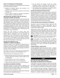 "Form PA-41 ""Pa Fiduciary Income Tax Return"" - Pennsylvania, Page 25"