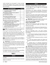 "Form PA-41 ""Pa Fiduciary Income Tax Return"" - Pennsylvania, Page 32"