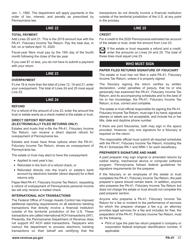 "Form PA-41 ""Pa Fiduciary Income Tax Return"" - Pennsylvania, Page 33"