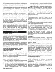 "Form PA-41 ""Pa Fiduciary Income Tax Return"" - Pennsylvania, Page 5"